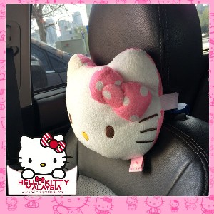 HelloKitty Headrest Plush Pillow