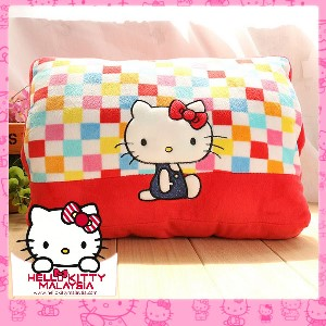 HelloKitty USB Warmer Plush Pillow